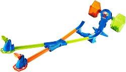 """Писта с изстрелвачка - Balance Breakout - Комплект с 3 колички от серията """"Hot Wheels"""" -"""