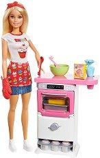 """Барби - Сладкар - Кукла с аксесоари от серията """"Barbie"""" - играчка"""