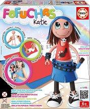 Направи сама кукла Fofuchas - Кейти - Творчески комплект -