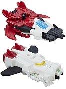 """Skysledge и Stormhammer - 2 комбиниращи се фигури за игра от серията """"Transformers: Combiner Force"""" -"""