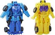 """Decepticon Dragstrip и Wildbreak - 2 комбиниращи се фигури за игра от серията """"Transformers: Combiner Force"""" -"""