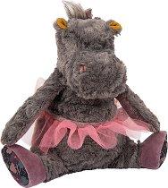 """Хипопотам - Плюшена бебешка играчка от серията """"Les Roty Moulin Bazar"""" - играчка"""