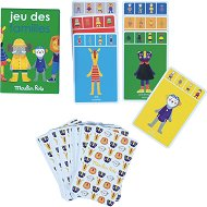 """Щастливо семейство - Игра с карти от серията """"Les Popipop"""" -"""