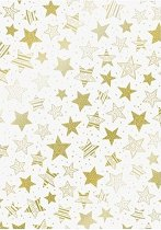 Паус - Звезди - Размер 21 х 31 cm
