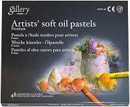 """Маслени пастели - Artists Soft Oil Pastels - Комплект от 48 цвята от серията """"Gallery"""""""