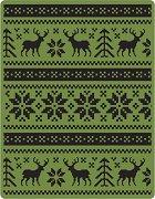 Папка за ембосинг - Holiday Knit - За машина за изрязване и релеф