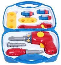 """Детски конструктор с инструменти - Комплект в куфарче от серията """"Technico"""" -"""