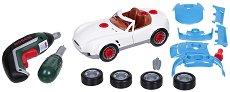 """Сглобяема количка с части за тунинговане - Детски комплект с инструменти Bosch от серията """"Bosch-mini"""" - играчка"""