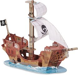 """Пиратски кораб - Комплект за игра от серията """"Пирати"""" - фигура"""