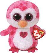 """Розово пингвинче - Juliet - Плюшена играчка от серията """"Beanie Boos"""" -"""