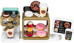 Кафене - Комплект за игра със звуков ефект и аксесоари -