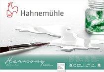 """Скицник за рисуване с акварел - Harmony - С повърхност """"hot pressed"""" и плътност 300 g/m : 2 :"""