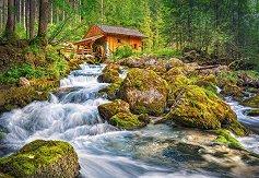 Воденица в гората - пъзел