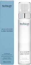 RevitaLash Micellar Water Lash Wash - Мицеларна вода за почистване на околоочен грим -