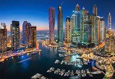 Дубайски небостъргачи - пъзел