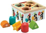Сортер - Geo Junzo - Дървена образователна играчка -