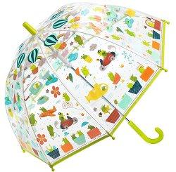 Детски чадър - Светът на жабоците - детски аксесоар