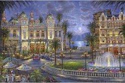 Рисуване по номера - Монте Карло - Комплект за картина с размери 50 x 40 cm