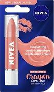 Nivea Crayon Lipstick Color Lip Balm - Цветен балсам за устни - продукт