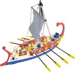 """Римска монорема - Ave Cesar - Дървен детски сглобяем модел от серията """"Junior Collection"""" -"""