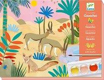 Оцветявай с гваш бои - Природа - играчка