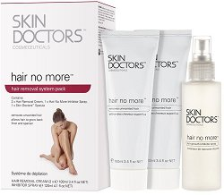 Skin Doctors Hair No More System Pack - Комплект за обезкосмяване - душ гел