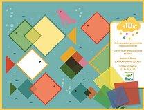 Създай сам колажи - Magic Squares - Творчески комплект -