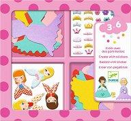 Декорирай със стикери - Принцеси - Творчески комплект - творчески комплект