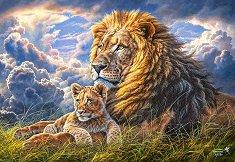 Лъвове - пъзел