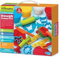 """Моделин - Творчески комплект с формички от серията """"Thinking Kits"""" - играчка"""