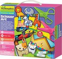 """Изрежи и направи сам играчки - Творчески комплект от серията """"Thinking Kits"""" - образователен комплект"""
