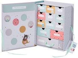 """Картонена кутия за спомени - От серията """"Les Jolis Trop Beaux"""" -"""