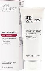 Skin Doctors Vein Away Plus - Крем за крака против паякообразни вени и капиляри - серум