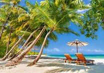 Почивка на плажа - пъзел