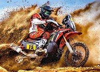 Мотокрос състезател - пъзел