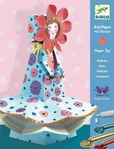 Направи сам картонена фигура - Mademoiselle Blossom - Творчески комплект -