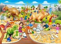 """Парк с динозаври - Пъзел от серията """"Castorland: Premium"""" -"""