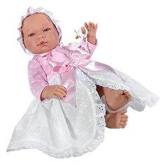 Кукла бебе Мария - Комплект с биберон - кукла