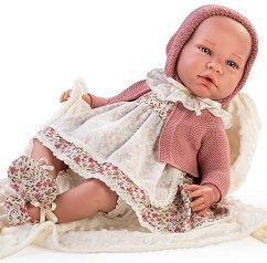 Кукла - бебе Кайетана : Лимитирана серия - Комплект с одеялце - кукла