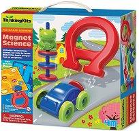 """Магнитна наука - Образователен комплект от серията """"Thinking Kits"""" - образователен комплект"""