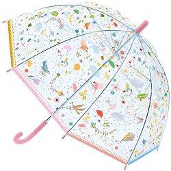 Детски чадър - Птици - играчка
