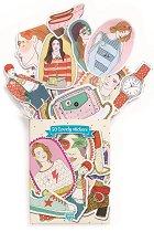 Стикери - Натали - Комплект от 50 броя