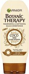 Garnier Botanic Therapy Coco Milk & Macadamia Balm-Conditioner - Балсам за суха коса с кокосово мляко и макадамия - балсам