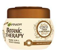 Garnier Botanic Therapy Coco Milk & Macadamia Mask 3 in 1 - Мултифункционална маска за суха коса с кокосово мляко и макадамия - дезодорант