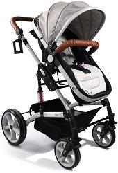 Комбинирана бебешка количка - Pavo Len - С 4 колела -