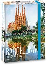 Кутия с ластик - Барселона - Формат А4