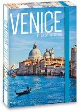 Кутия с ластик - Венеция - Формат А4