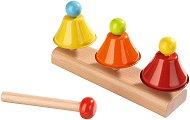 Мелодични камбанки - Дървен музикален инструмент - играчка