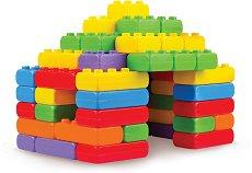 Детски конструктор с едри елементи - Комплект от 60 части -
