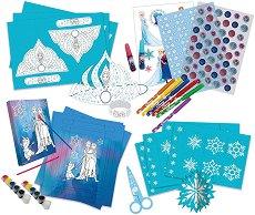 Създай сама декорация за рожден ден - Замръзналото кралство - Творчески комплект - играчка